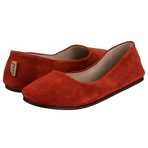 (フレンチ ソール) French Sole レディース シューズ フラット Sloop Red Suede    レディース靴参考サイズ US|EU|JP(cm) 5|35-36|21.6 6|36-37|22.5 7|37-38|23.5 8|38-39|24.1 9|39-40|25.1 10|40-41|25.9 11|41-42|26.7 ...