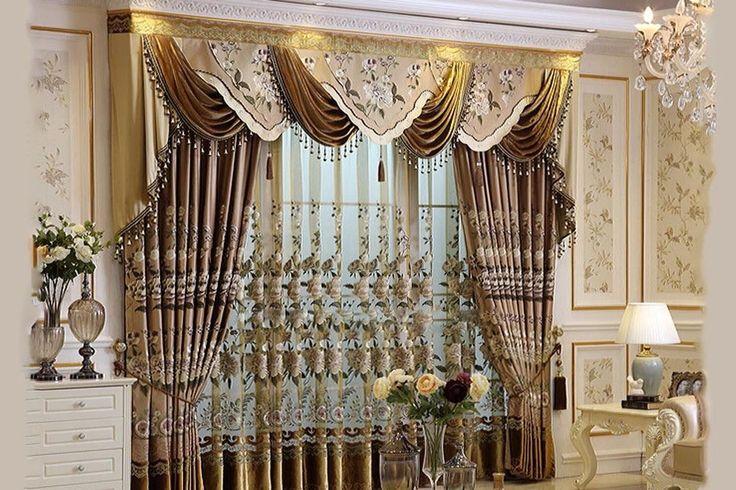 Декоративные шторы – идеи дизайна