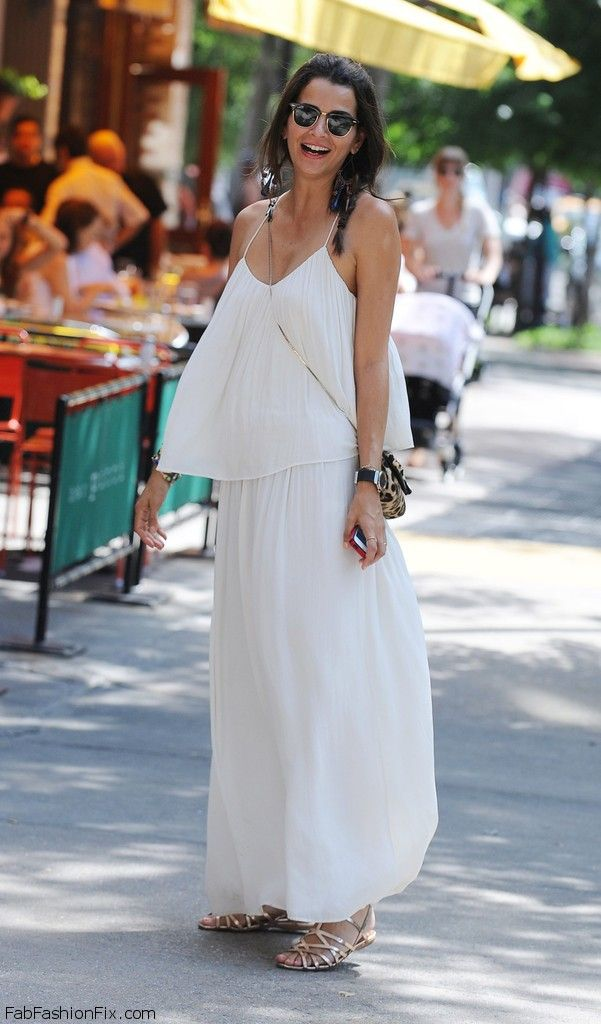 Style Watch: How celebrities wear the maxi dress for ...