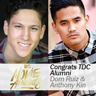 Congrats to TDC Alumni, Dom Ruiz  Anthony Kin. Dom will be dancing in the show, with choreography by Anthony Kin. Supervising Producers: NappyTabs. So proud to see you guys working together.  Watch the MTV Movie Awards on Sunday! Check your local listings