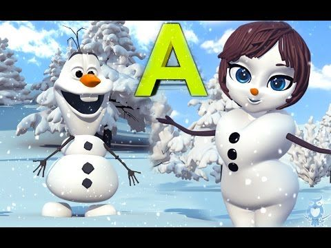 Frozen Alphabet ABC Song | English Alphabet | Learn the ABC's - YouTube