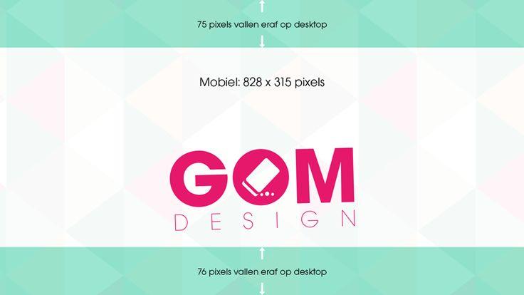 GOM Design Facebook omslagfoto mobiel