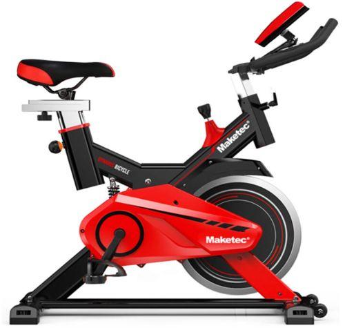 Bici estática Maketec con volante de inercia de 24kg muy alta calidad