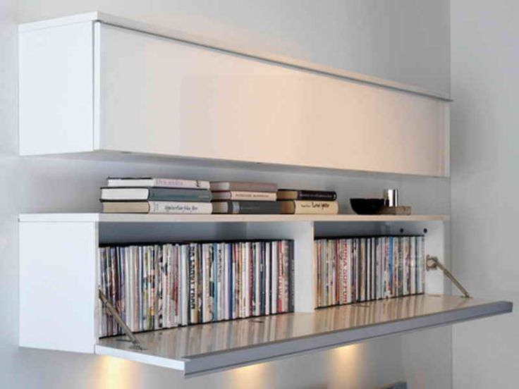 Best 25 dvd storage rack ideas on pinterest cd storage - Creative uses of floating shelves ikea for stylish storage units ...