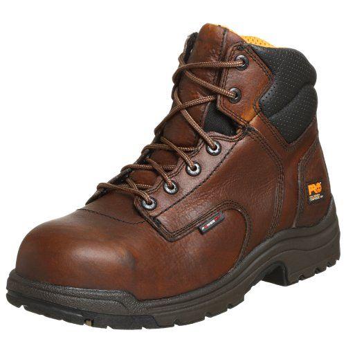 "Timberland PRO Men's Titan 6"" Composite Toe Boot"