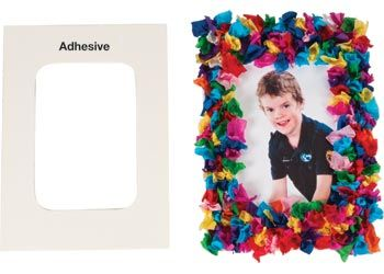 Collage Sticky Frames Pack of 24. Peel off the backing to reveal a self-adhesive surface.