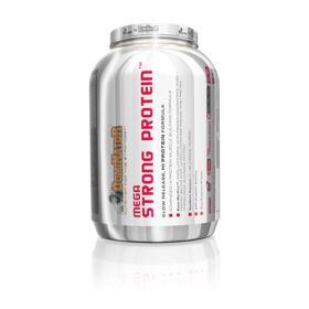 Olimp - Mega Strong Protein 2200g wanilia. Elitarna odżywka wysokobiałkowa gwarantująca szczytowy anabolizm białek mięśniowych, przez ponad 5 godzin od chwili spożycia. Spełnia wymagania najbardziej wybrednych profesjonalistów sportowych. #odzywkabialkowa #suplementdiety #silownia