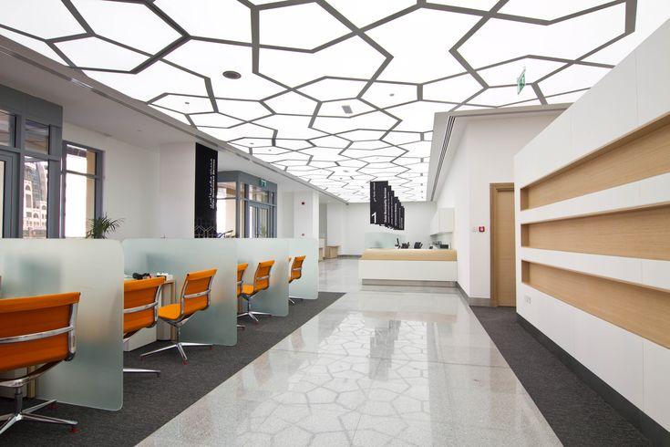Corporate office -  design by Swiss Bureau Interior Design LLC