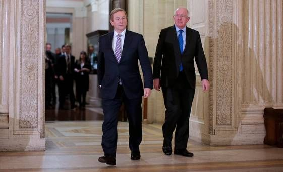 No souring of relations between First Minister Arlene Foster and I over bombshell speech insists Taoiseach Enda Kenny - Belfast Telegraph