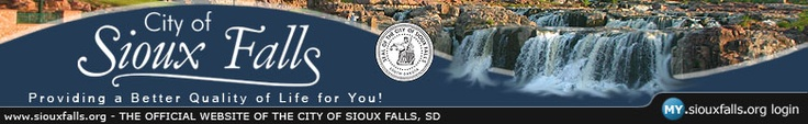 Here's a link to the City of Sioux Falls' website.