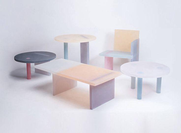 Beautiful Pastel Resin Furniture – Fubiz Media