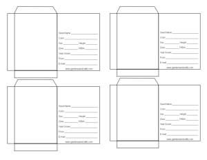 Templates for DIY seed packets. Whether it's to organize/unify your seeds or to give as gifts. This page is pretty slick. Check it out.