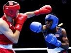 Boxing - Terrell Gausha of USA takes on Andranik Hakobyan of Armenia