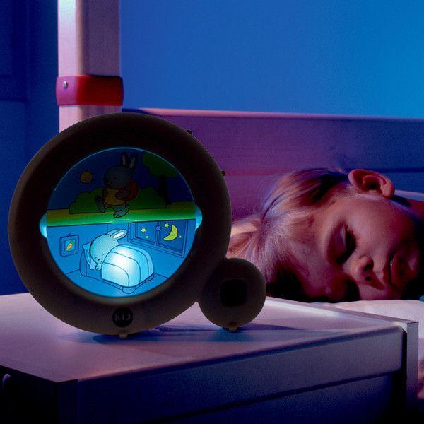 Vågner dit barn også alt for tidligt om morgenen? Så er hjælpen nær…Sæt uret, så kaninen eksempelvis sover fra kl. 20:00 om aftenen til kl. 07:00 om morgenen.