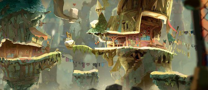 Concept Arts de Rayman Legends, por Aymeric Kevin