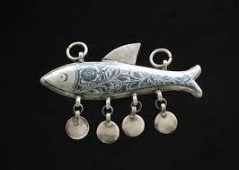 fish made of silver