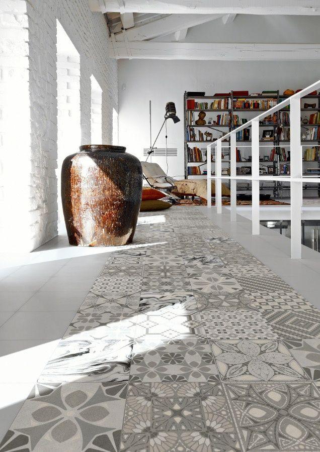El mosaico hidráulico, vuelve para quedarse | Design Lover www.designlover.es