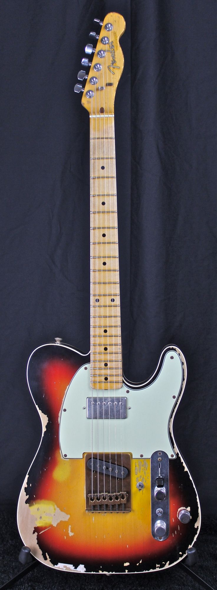 Andy Summers' famous Fender Telecaster with the additional Humbucker pickup