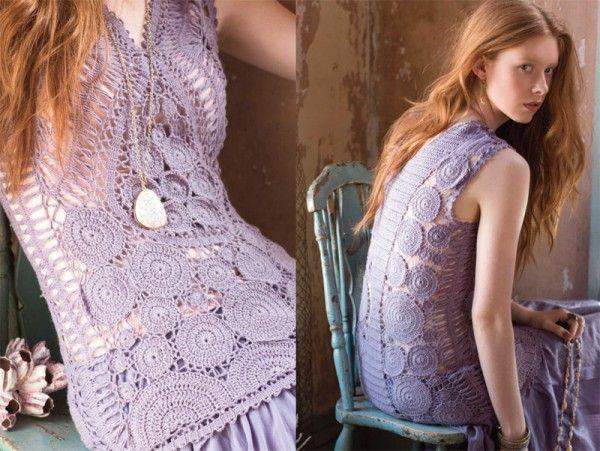 vogue crochet fashion - geen patroon