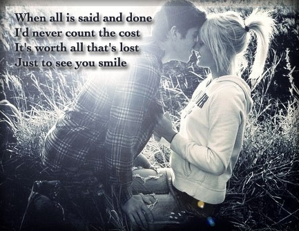 just to see you smile...Tim McGraw