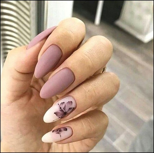 91 Beautiful Marble Nails To Copy Right Now Page 5