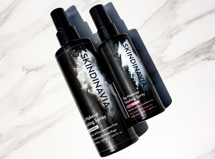 Skindinavia Setting Sprays: Bridal vs Oil Control