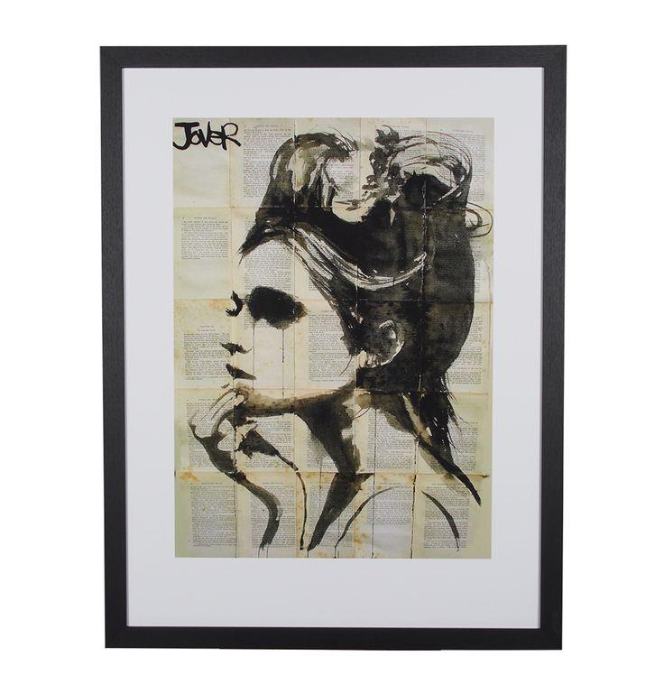 Etheral by Loui Jover - Framed Print 60 x 80 - Matt Blatt