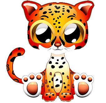 potisk leopardík, originální motiv na tričko,T-ART.CZ, leopard illustration  child design t-shirt