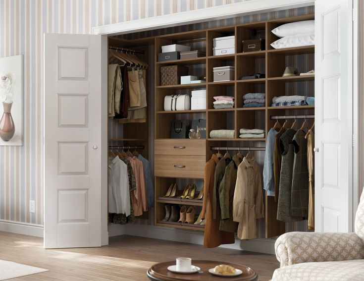 17 best ideas about reach in closet on pinterest closet - Storage for bedrooms without closets ...