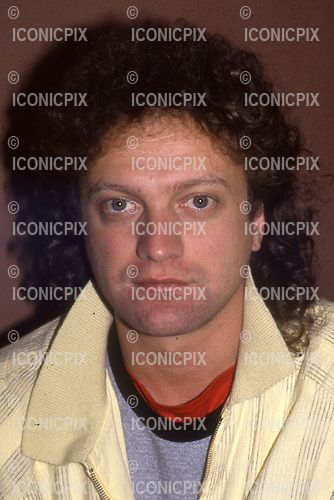 Foreigner - vocalist Lou Gramm photographed on the Agent Provocateur Tour  at the Mayfair Hotel in London UK - 20 Jun 1985.  Photo credit: George Chin/IconicPix