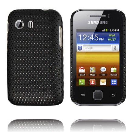 Atomic (Musta) Samsung Galaxy Y Suojakuori