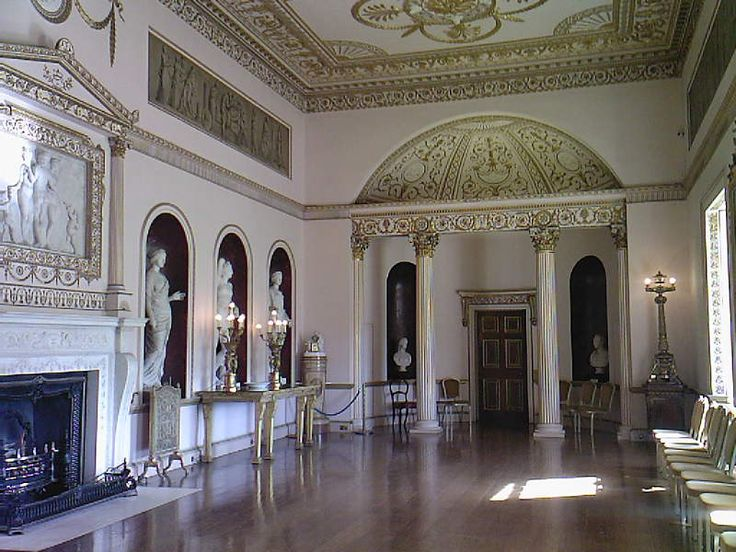 The Dining Room At Syon House Completed By Adam In 1763