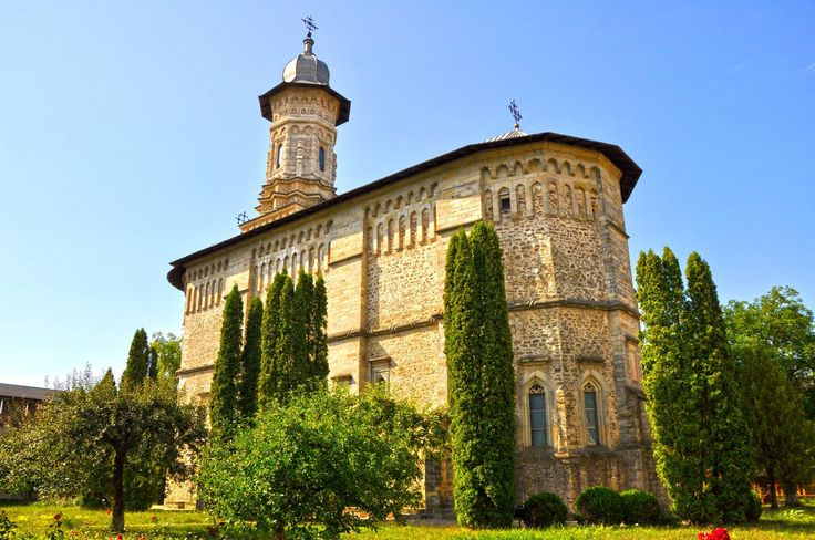 Mănăstirea Dragomirna - în Mitocu Dragomirnei, Suceava, Romania.