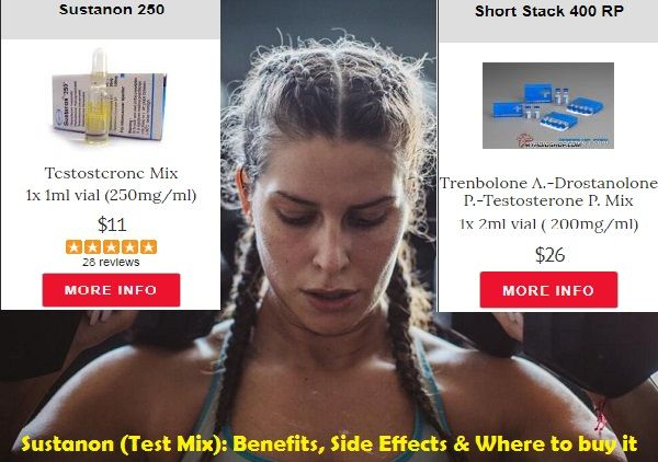 Sustanon is a mix of #Testosterone  It is made up of 4