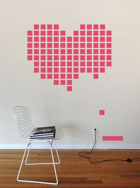 Sticker heart-breakout by WhatIsBlik.com