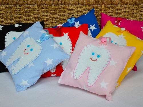 www.saffroncrafts.co.uk - Check out these gorgeous tooth fairy pillows on my website!