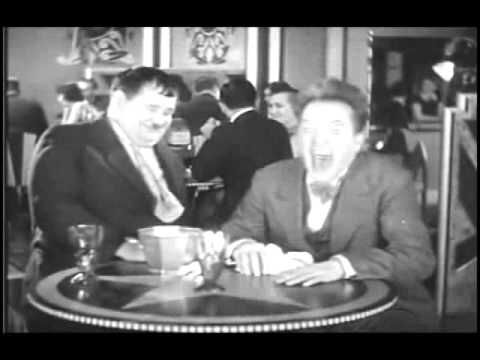 Laughing scene clip from one of Laurel & Hardy's movies.....so funny  :D