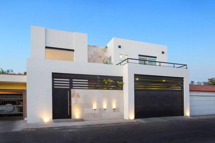 1000 ideias sobre fachadas de casas no pinterest for Casa moderna 64