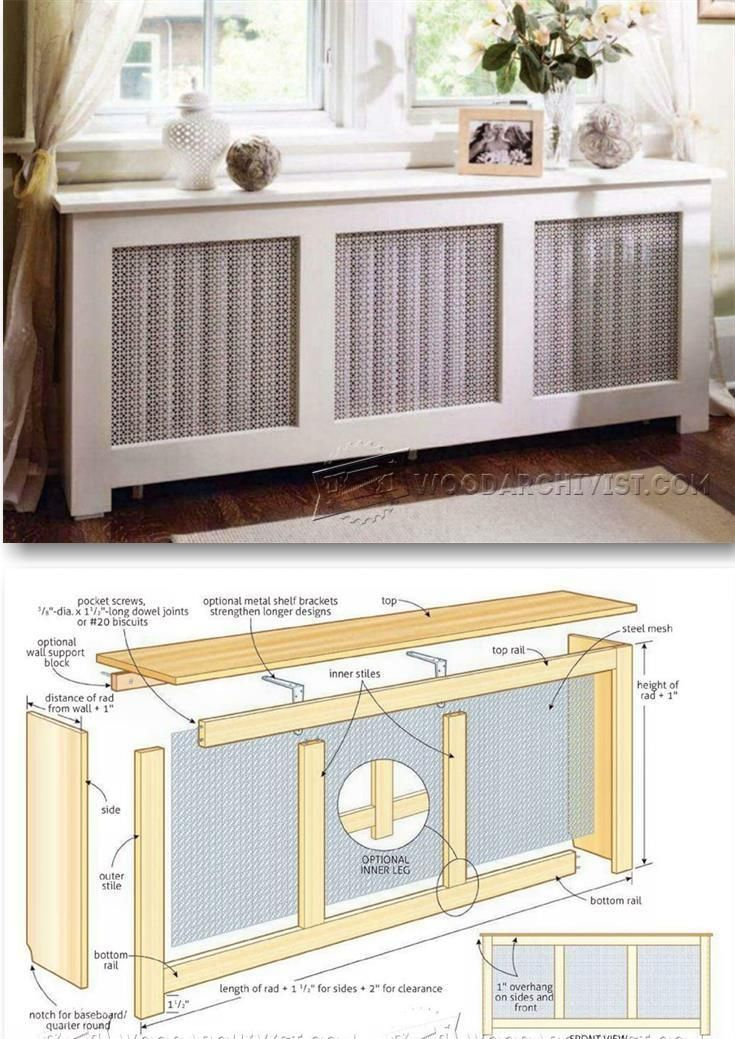 Radiator Cover Plans Woodworking Plans and