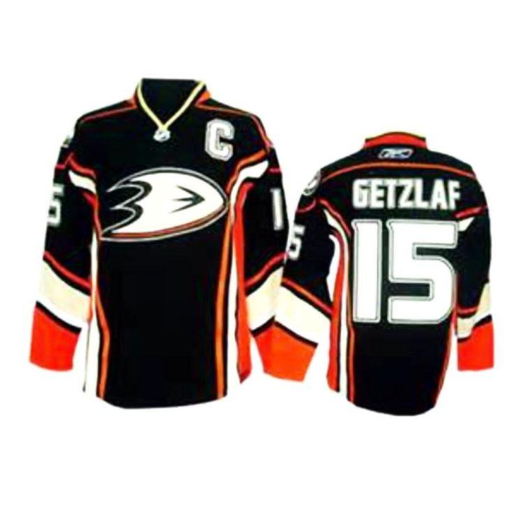 Ryan Getzlaf Anaheim Ducks # 15 Stitched Black Third NHL Jersey