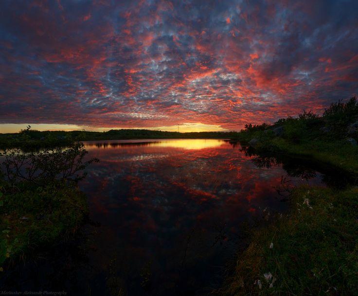 Заполярные закаты — National Geographic Россия