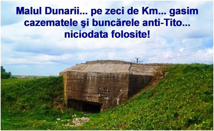 Mehedinti Blog online - Alianta Contribuabililor : In anii '50,malul Dunarii este impanzit cu zeci de cazemate şi buncăre anti-Tito! Razboi rece, minti infierbantate! Bani, multi bani... ingropati de pomana dracului! Azi, istoria se repeta! S-a inversat 'dusmanul', schimbat partenerii! Banii insa, sunt la fel! Irositi... fara numar, fara numar! Poporul uita, poporul plateste! Nimic nu am invatat... din istorie!