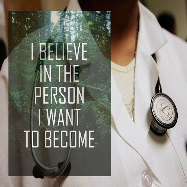 Believe in your dreams, believe in yourself! #motivation #premed #MCAT