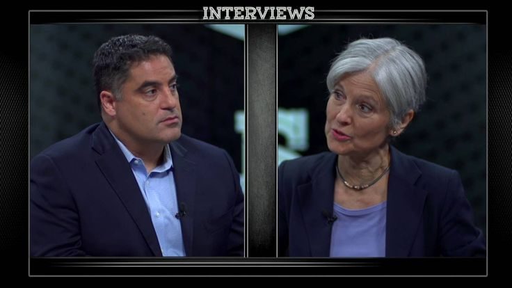 "Dr. Jill Stein Interview With The Young Turks' Cenk Uygur | TYT | Published Jun 10, 2016 | https://youtu.be/N4RV1q70gr4 | ""Cenk Uygur of The Young Turks interviews Green Party candidate for President, Dr. Jill Stein. Along with running for President Dr. Jill Stein is an activist, medical doctor, and environmental health advocate."" Click to watch and share video interview (45:01)."