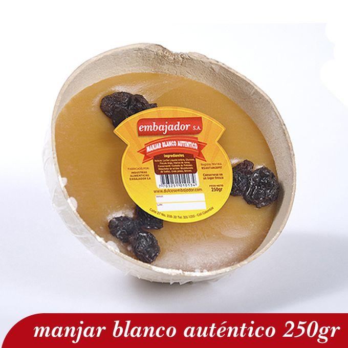 Manjar Blanco Auténtico 250gr, Dulce de Leche Típico del Valle del Cauca, Postres Navideños #Postres #Navidad
