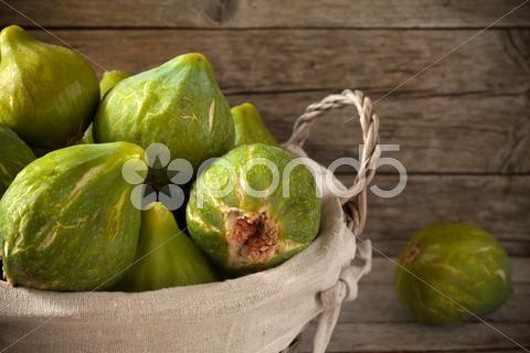 basket with figs - Stock Footage | by eZeePicsStudio