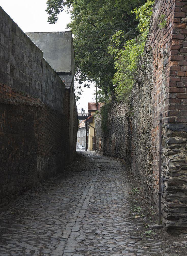 Ząbkowice Śląskie, mury obronne, pocz. XIV, kon. XVI
