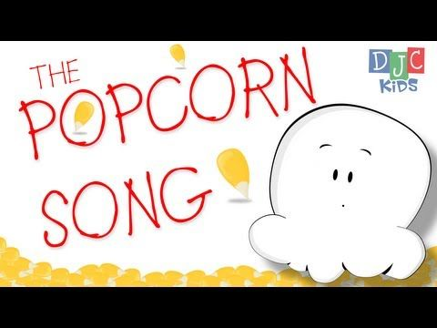 The Popcorn Song is all about fun and being silly! We've included the words to our new kids video so you can sing along and maybe even get up and start dancing like a dancing!    DJC Kids features nursery rhymes, children songs, and animated stories perfect for kids! Watch our videos and read our books for fun education, music, and activities for ...