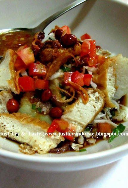 Tepo/Lontong Tahu Kecap | Just Try & Taste
