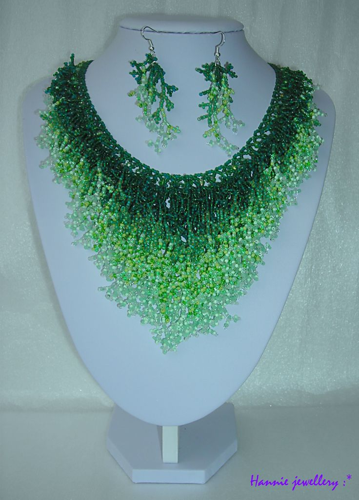 Beading jewelery from Hannie jewellery :) Cheb, Czech republic http://hanniejewellery.cz/